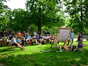 Veřejné setkání k nové podobě parku v Dukelské doprovázely silné emoce