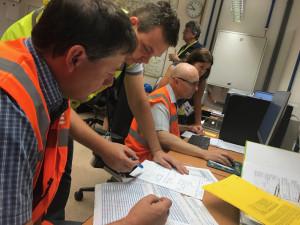 V rámci cvičení Zóna 2019 proběhla v okolí Temelína radiační kontrola