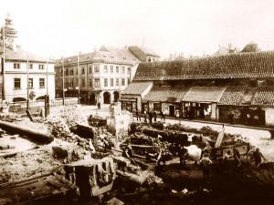 DRBNA HISTORIČKA: Masné krámy z jiného úhlu pohledu