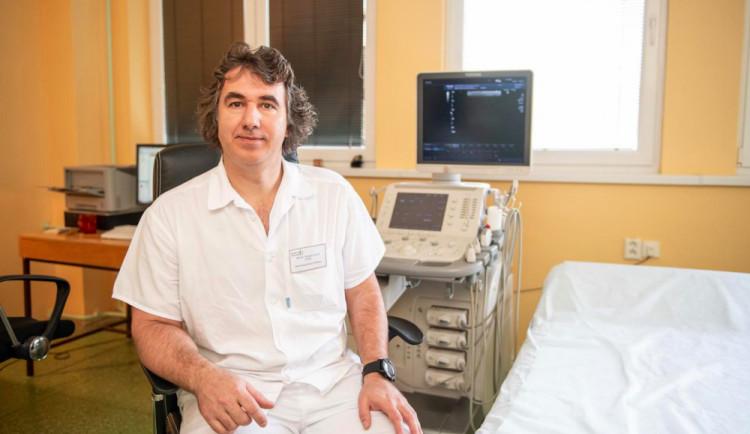 Nová technika kontrastního ultrazvukového vyšetření v prachatické nemocnici