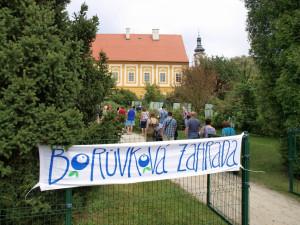 SOUTĚŽ: Klášter v Borovanech v polovině července opět ožije Borůvkobraním