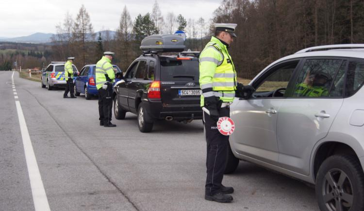 Na Krumlovsku proběhla dopravní akce. Přes čtyřicet řidičů se dopustilo přestupku