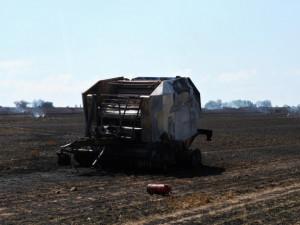 U obce Chocov byl vyhlášen druhý stupeň požárního poplachu. Škoda jde do sta tisíců