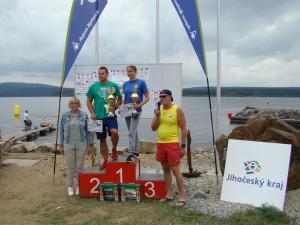 Na Lipně soutěžili nejlepší čeští dálkoví plavci o pohár starostky obce Černé v Pošumaví a pohár Lipenského vodního záchranáře
