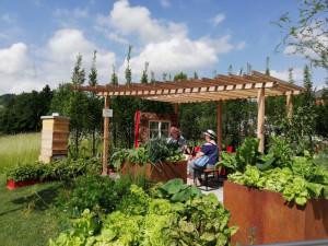 SOUTĚŽ: Krásnou hornorakouskou výstavu Bio.Garten.Eden se vyplatí navštívit i víckrát. Květiny se obměňují dle sezóny