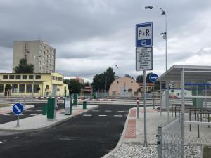 Rozšířené záchytné parkoviště začne fungovat od pondělí