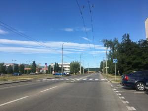 Semafory na Branišovské už fungují. Zvýhodnit mají autobusy městské hromadné dopravy