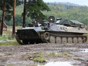 Strakoničtí vojáci během cvičení v Boleticích ladí taktické postupy  a zdokonalují se v boji se vzdušným protivníkem
