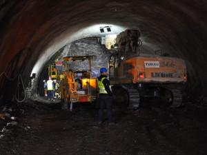 Ostartovala ražba tunelu Mezno, zkrátí se doba jízdy do Prahy