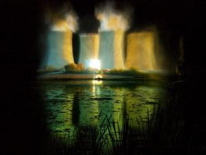 Temelín zve na speciální vodní show