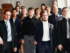 Kraj ocenil jihočeské studenty za úspěchy v soutěžích doma i zahraničí