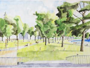 Lidé budou moct diskutovat s autory návrhu parku v Dukelské. Chystá se veřejná prezentace