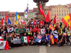 Městem projde tradiční vlajkový průvod. Oslaví výročí organizace Erasmus