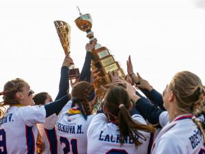 Softbalistky z Ledenic ovládly letošní extraligu a získaly zlatý hattrick