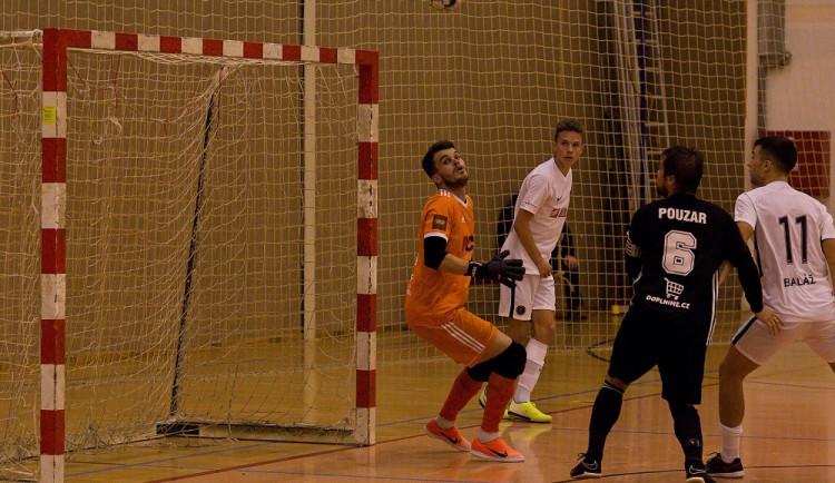 Futsalisté Dynama porazili tým Liberce