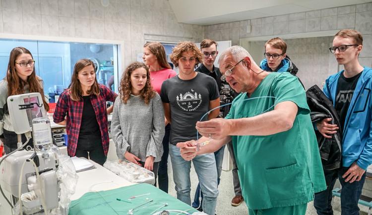 TalentAkademie v Nemocnici České Budějovice
