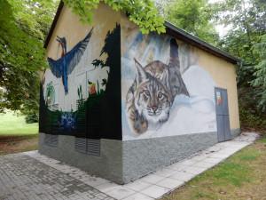 ANKETA: Trafostanice na jihu Čech zdobí malby. Nejnovější přibyla ve Vimperku