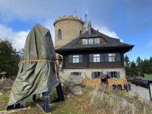 Na věž kleťské rozhledny bude umístěn Zvon svobody.