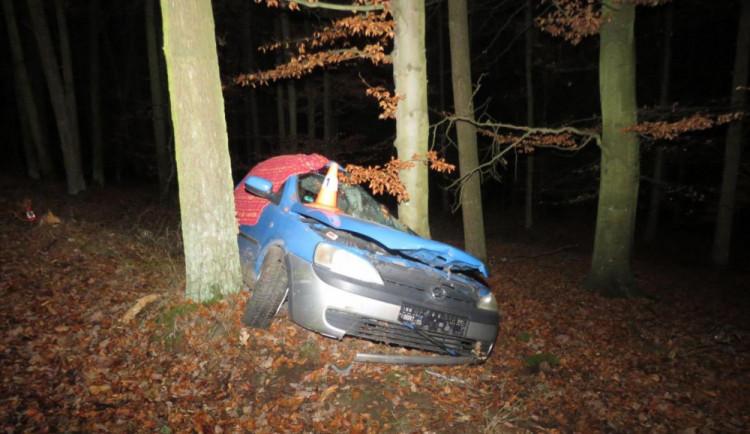 Náraz do stromu u Vodňan nepřežil v noci jednadvacetiletý mladík