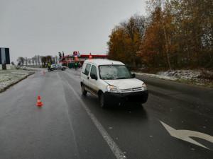 Auto v Milevsku srazilo chodce, cestou do nemocnice zemřel