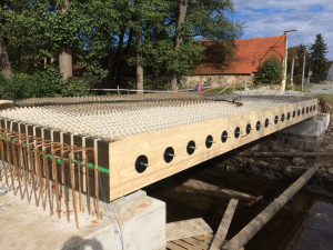 Jihočeský kraj dokončuje most, který bude mít sledovací systém