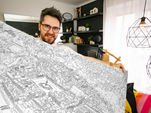 Chtěl jsem potěšit kolegy v práci, tak jsem vytvořil Budějovánky, říká designer Martin Hrabánek