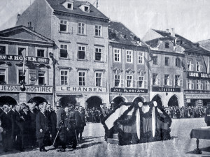 DRBNA HISTORIČKA: Nápisy patřily ke koloritu města