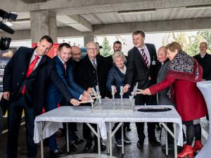Budějcká nemocnice zahájila nejrozsáhlejší stavební investicí v historii, první etapa bude trvat 900 dní