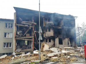 Kraj vybral firmu na demolici zničeného domu v Lenoře