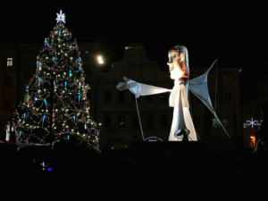 Přílet anděla omezí řidiče, náměstí se kompletně uzavře