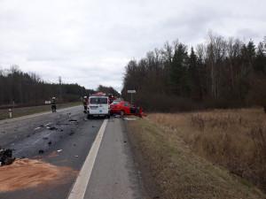 Při tragické dopravní nehodě u Plané nad Lužnicí zemřel jeden člověk