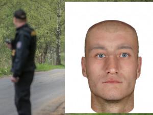 Kriminalisté vyšetřují v Suchém Vrbném násilný trestný čin, pátrají po muži z identikitu