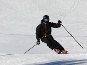 Na jihočeských sjezdovkách byly o víkendu tisíce lyžařů