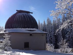 Nový rok si mohou lidé užít pohledem na krajinu i do vesmíru