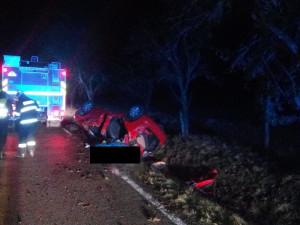 Tragickou dopravní nehodu u Třeboně nepřežil osmnáctiletý mladík