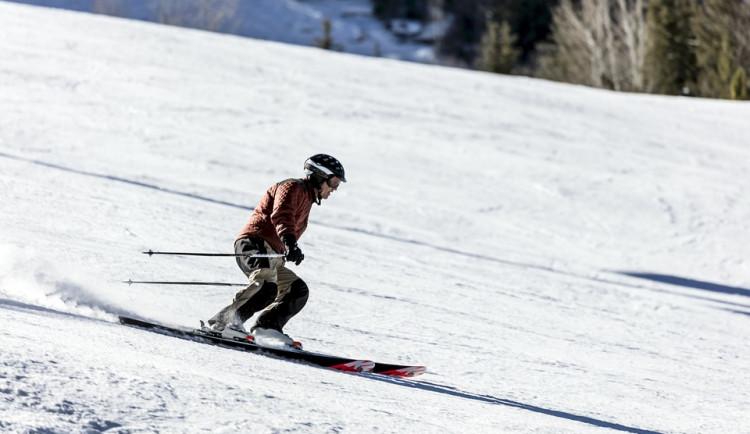 V jihočeských skiareálech je od 20 do 70 centimetrů sněhu