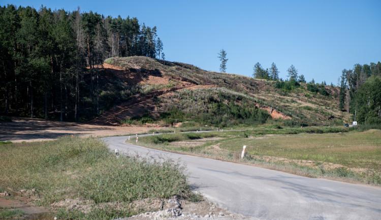 Na trase obchvatu Budějc může hrozit sesuv půdy. ŘSD dělá doplňkový geologický průzkum