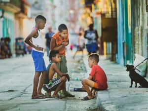 Fotky z Kuby podpoří potravinovou banku