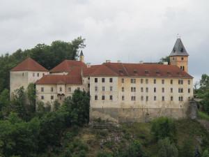 Na vimperském zámku bude kopie vzácné gotické madony