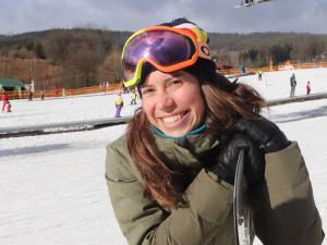 Jsem ráda, že jsem na Lipně, pochvalovala si Eva Samková na snowboardcrossovém kempu