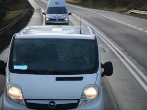 Policisté se zaměřili na telefonování za jízdy, přistihli dvanáct hříšníků