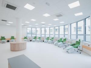 Budějcká nemocnice otevřela nový pavilon. Vyšel na 170 milionů korun