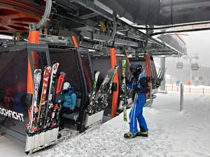 Čerstvá vrstva sněhu zlepšila podmínky na horách na jihu Čech