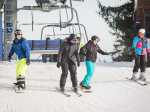 Skiareál Lipno ukončí sezonu příští víkend