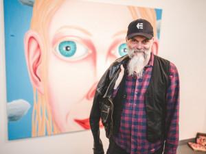 FOTO: Nahlédněte do výstavy nových obrazů malíře Romana Franty