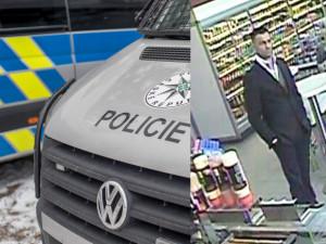 Policisté prověřují majetkovou trestnou činnost, pátrají po muži z fotografie