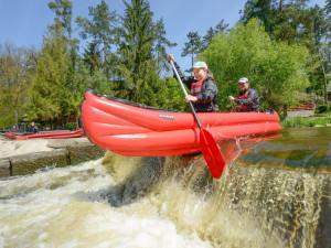 Národní park Šumava posouvá registraci pro splouvání Vltavy