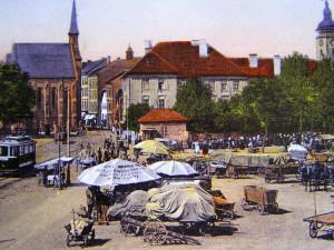 DRBNA HISTORIČKA: Na Senovážném se prodávalo také seno a sláma