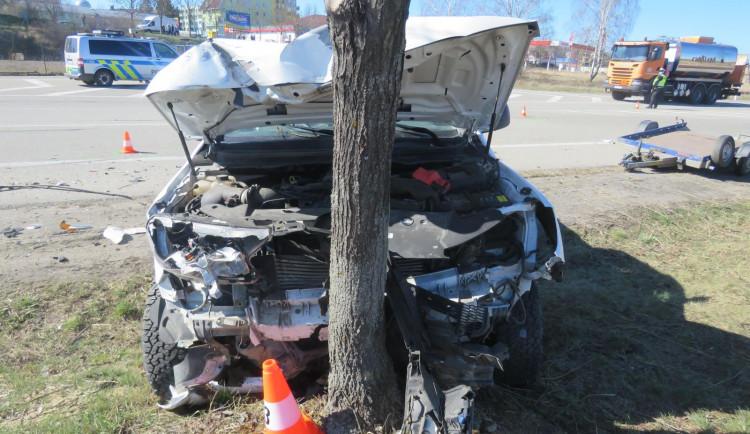V Jindřichově Hradci se stala tragická dopravní nehoda, zemřel jeden člověk