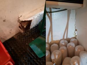 Inspektoři zastavili auto, které v nevyhovujících podmínkách přepravovalo půl tuny masa na kebab